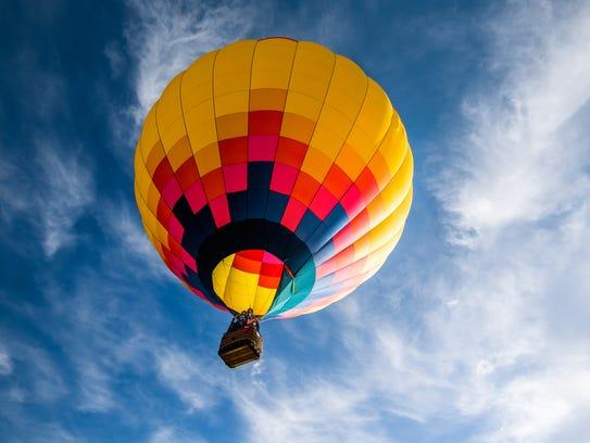 Murfreesboro's inaugural Hot Air Balloon Festival is