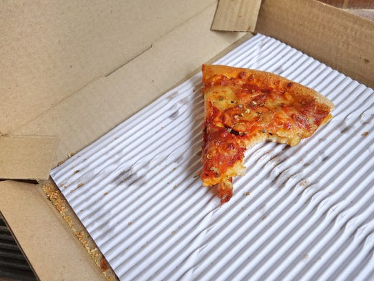 Folks in Michigan can't stand cold pizza, so forget