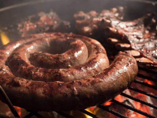 Boerewors, the South African beef, pork and lamb sausage,