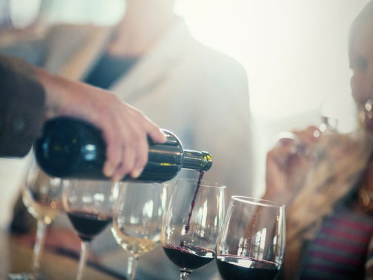 At the Grand Tasting, sip wines from the Top 6 wine