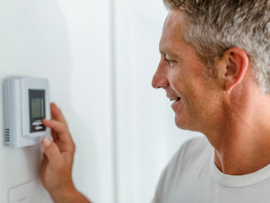 Smart and programmable thermostats let you regulate