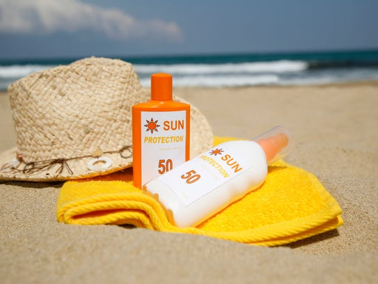 Apply sunscreen often throughout the day.