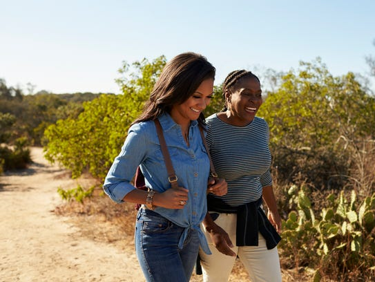 Go on a hike with your mom.