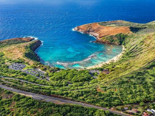 Hanauma Bay, Honolulu.