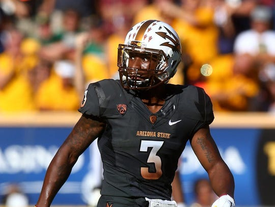 Arizona State defensive back Damarious Randall is considered