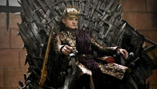 "Joffrey Baratheon is the cruel, Ned Stark-head-chopping king everyone loves to hate on ""Game of Thrones."""