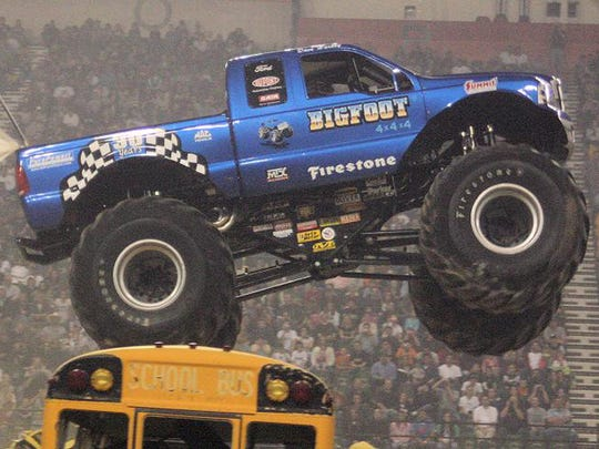 Bigfoot and other monster trucks will return to the Wicomico Youth & Civic Center