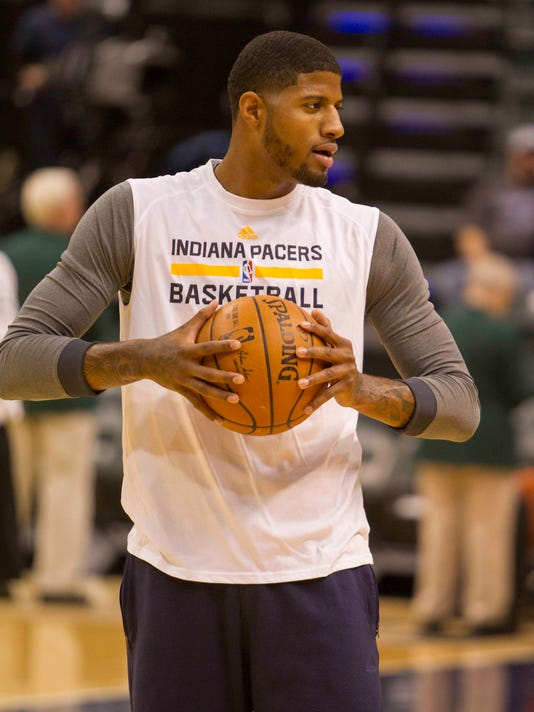 8175eec3c8c Pacers' Paul George may play this year, Larry Bird hints