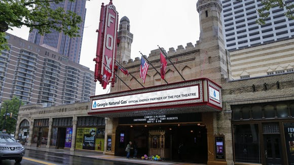 Seen here on April 22, 2016, the Fox Theatre is a long-time