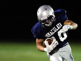 Dustin Parker and the Immaculata football team fell to St. Joseph (Hammonton) in the Non-Public Group II semifinals on Saturday.