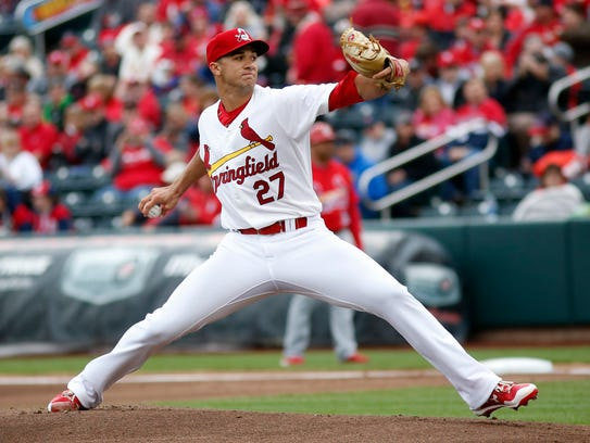 Jack Flaherty was a first-round draft choice in the