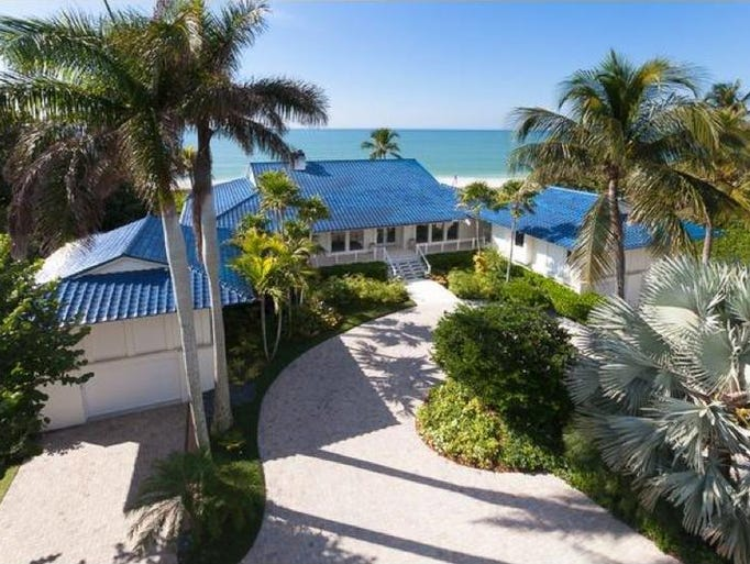 1. $16.46 million sale price, $18.99 million list price: 1880 Gulf Shore Blvd. S, Naples, 6 or more bedrooms, 13 bathrooms, 6,360 sq. ft. living area, 10,305 total; built 1964. Sold Aug. 5