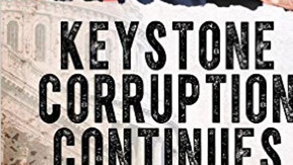 """York High grad Brad Bumsted has a new book: """"Keystone Corruption Continues."""" Bumsted graduated from William Penn High School in 1968."""