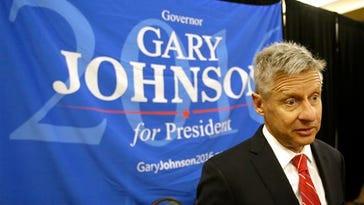 On Sunday, May 29, 2016, the Libertarian Party again nominated former New Mexico Gov. Gary Johnson as its presidential candidate, believing he can challenge presumptive Republican nominee Donald Trump and Democratic front-runner Hillary Clinton because of their poor showing in popularity polls. (AP Photo/John Raoux, File)