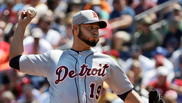 Anibal Sanchez fires against the Phillies on Sunday.