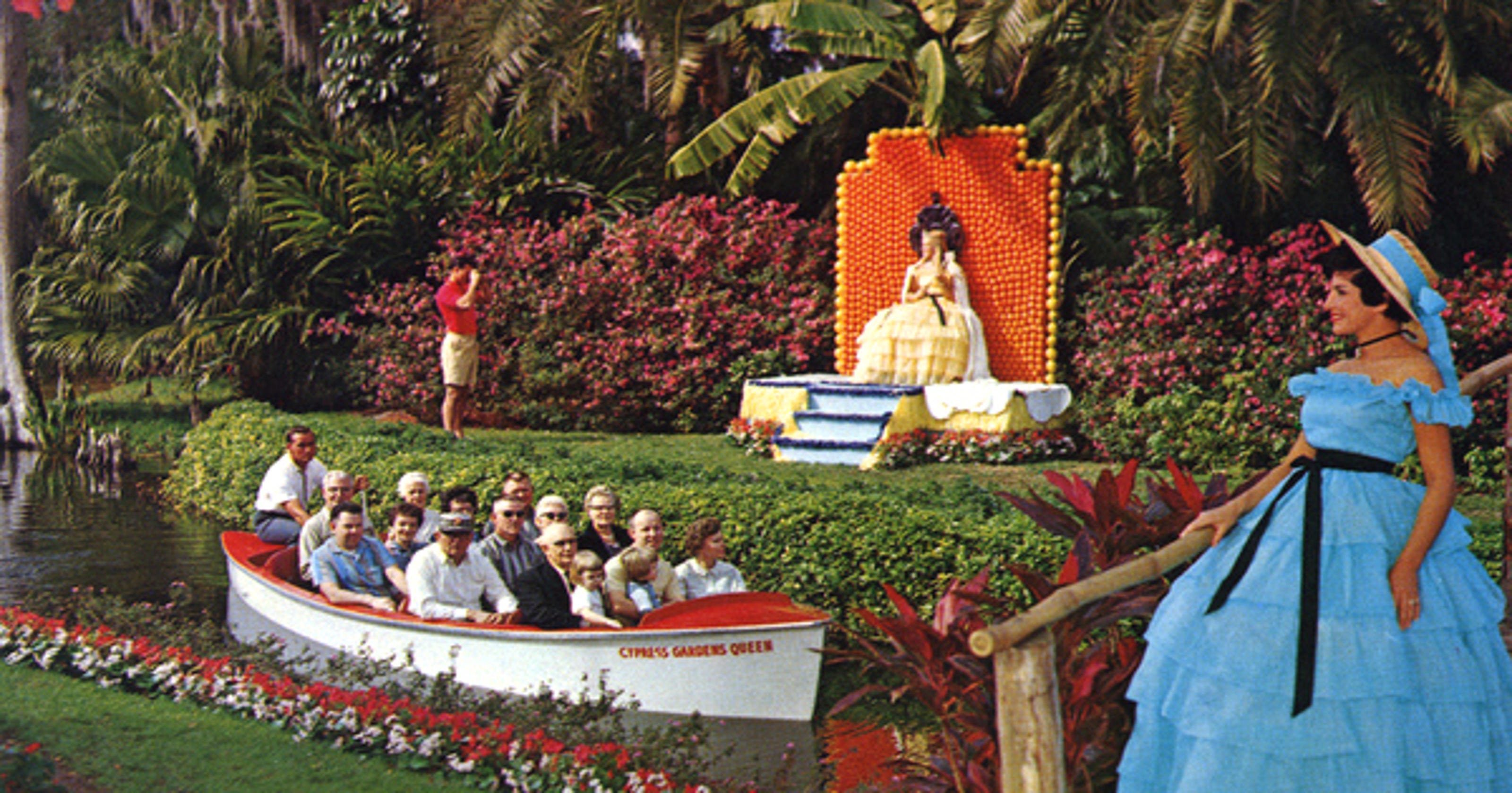 Florida Frontiers: Cypress Gardens was Florida\'s first theme park