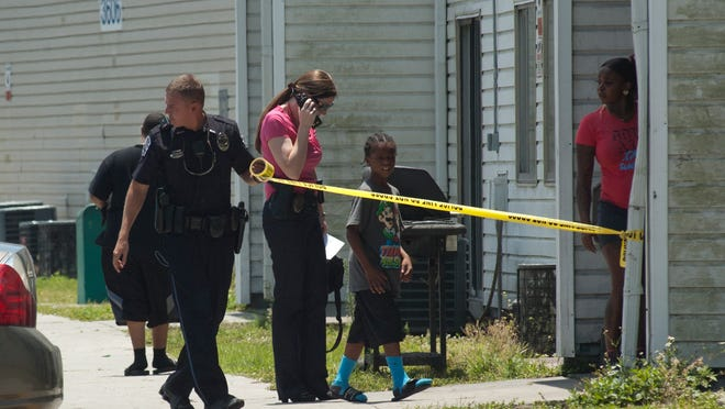 The Fort Myers Police Department investigates a shooting at Seminole Avenue and Veronica Shoemaker Boulevard.