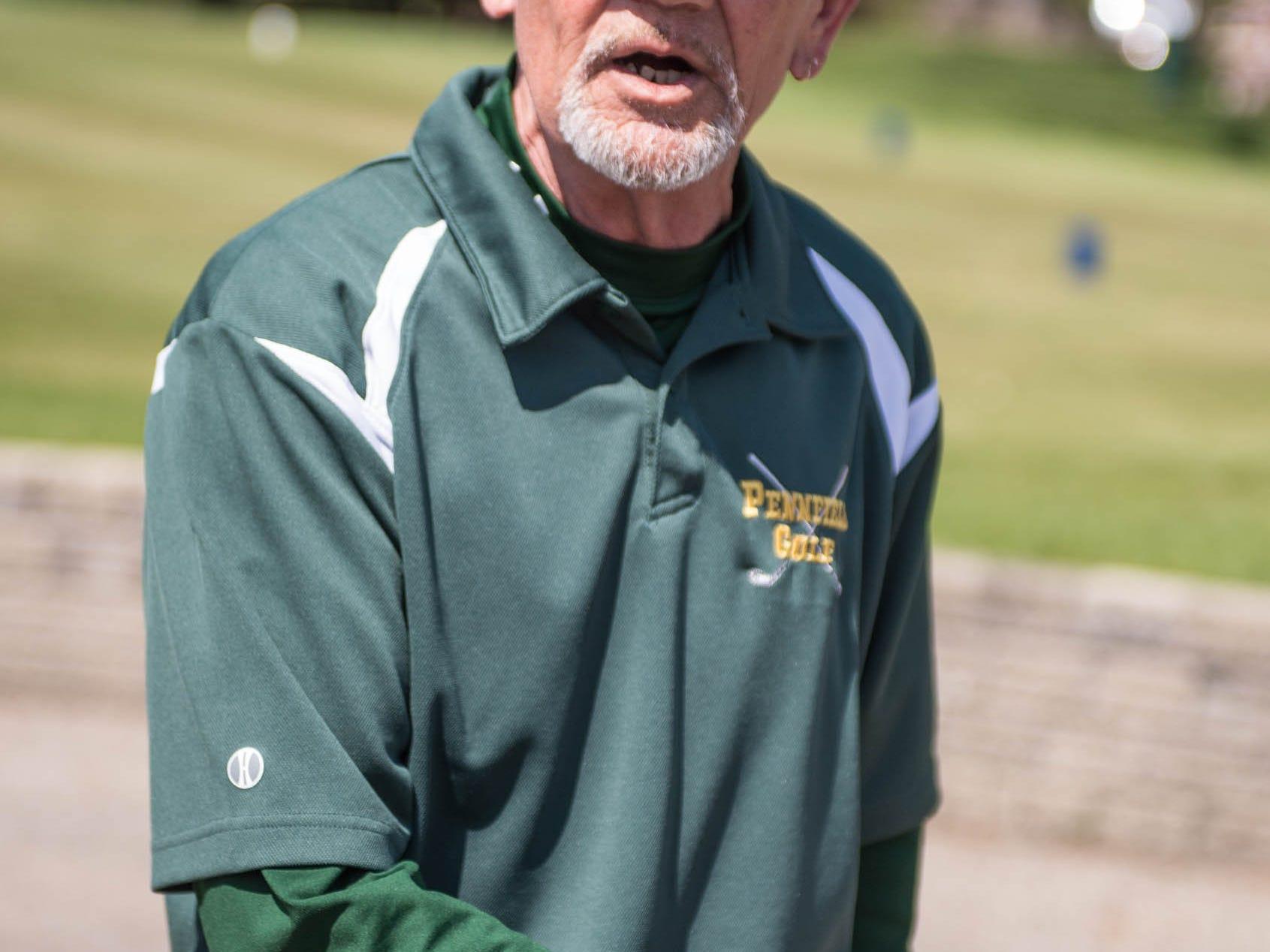 Pennfield interim golf coach Fred Beronja.