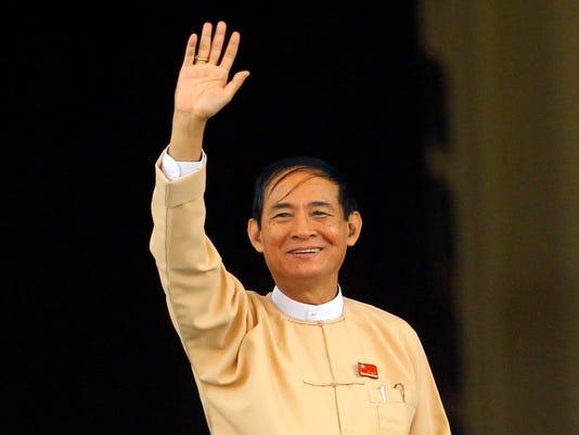 AP MYANMAR NEW PRESIDENT I MMR