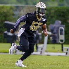 New Orleans linebacker Demario Davis is a real Saint