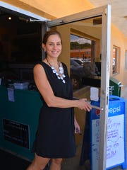 Isadora Rangel, Florida Today columnist and public affairs engagement editor on location in Brevard.