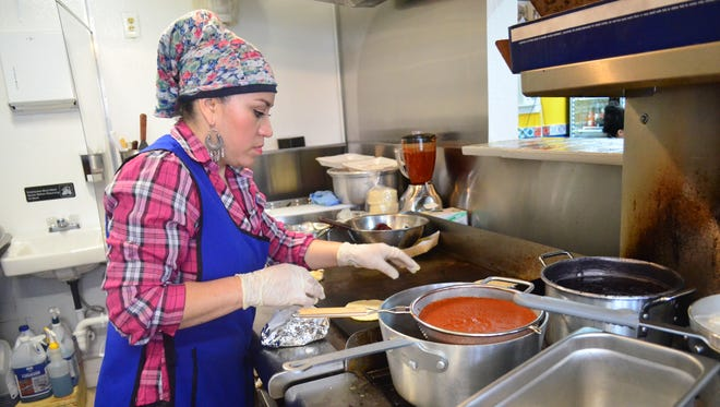Margarita Rauda cooks authentic Mexican food like she would in her own home.