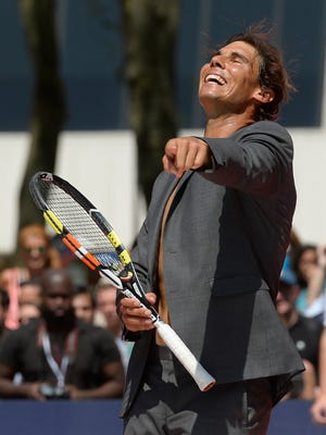 """""""A day like today, I am relaxed,"""" swears Rafael Nadal."""