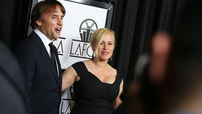 'Boyhood' director Richard Linklater and co-star Patricia Arquette attended the 40th Los Angeles Film Critics Associations Awards at InterContinental Los Angeles on Saturday.