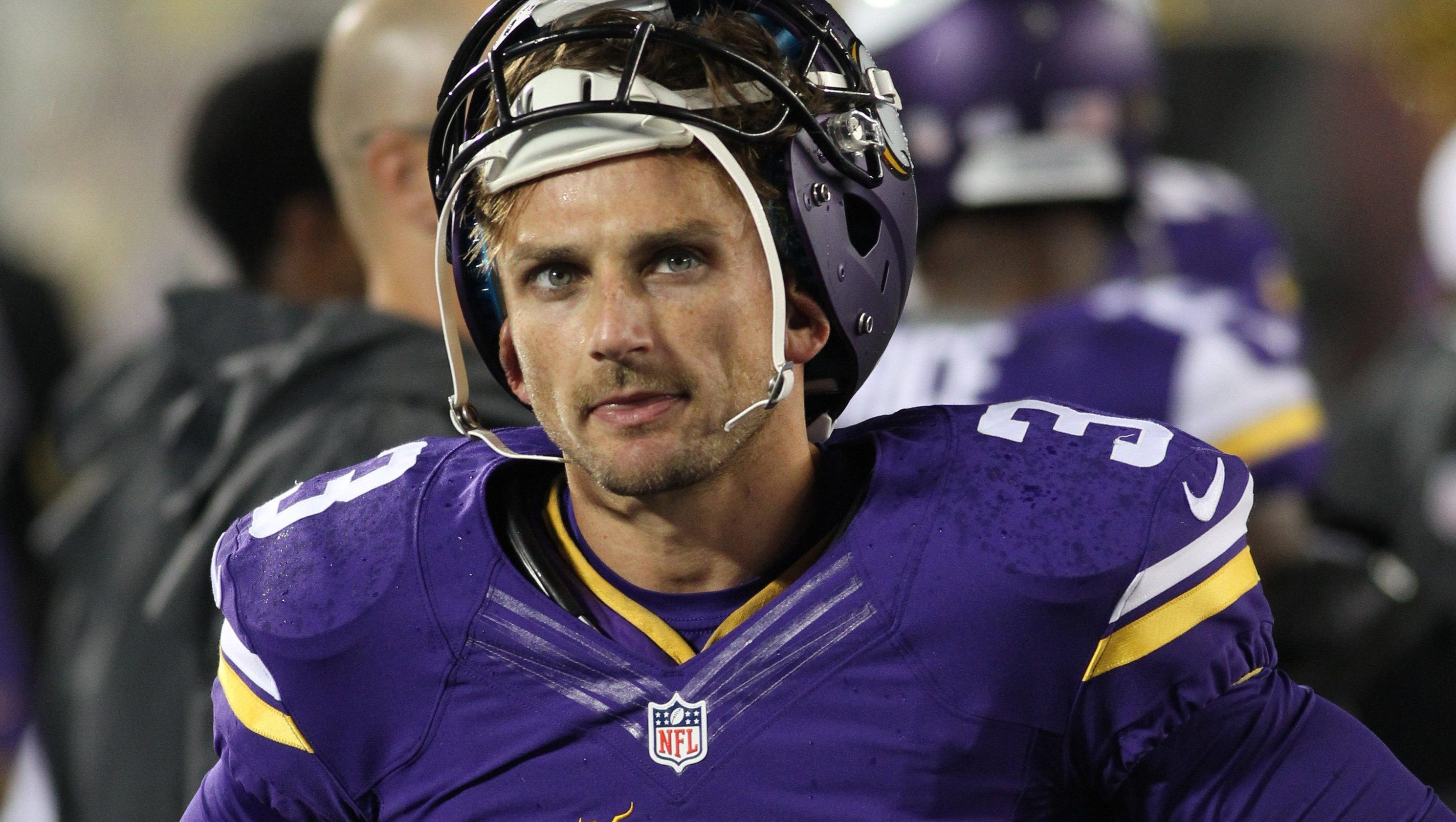 Vikings Kicker Blair Walsh >> Vikings kicker Blair Walsh struggling in preseason