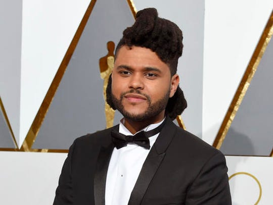 FILE - In this Feb. 28, 2016 file photo, The Weeknd