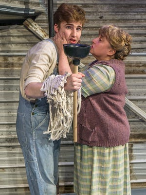 """Lost Nation Theater wraps up its production of """"Urinetown the Musical"""" this weekend in Montpelier."""