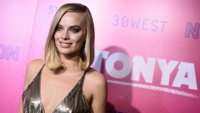 Margot Robbie portrays Tonya Harding in 'I, Tonya' opening Friday.