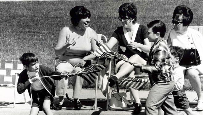 May 30, 1970: Memorial Day celebration in Fair Lawn.
