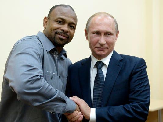 Vladimir Putin, Roy Jones Jr
