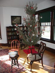 """""""A WW1 Christmas"""" at the historic boyhood home of Charles Lindbergh featurescostumed interpreters portraying Lindbergh family members and neighbors on Nov. 24-26 and Dec. 1-3."""