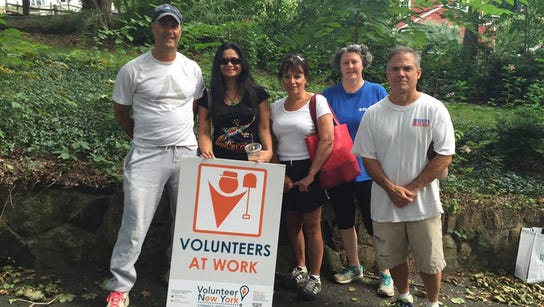 Journal News employees volunteer in the community.