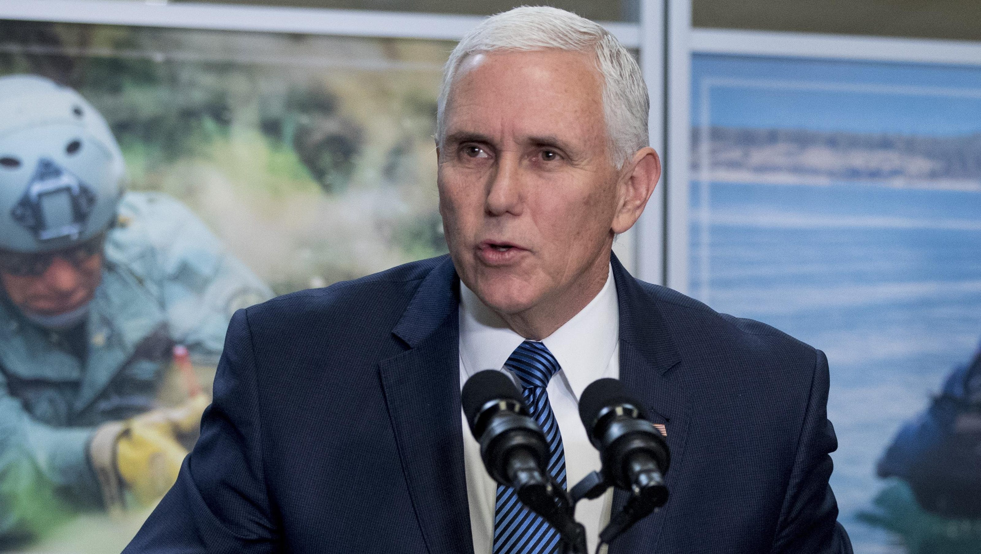 Source: Pence expected back in Michigan on Wednesday