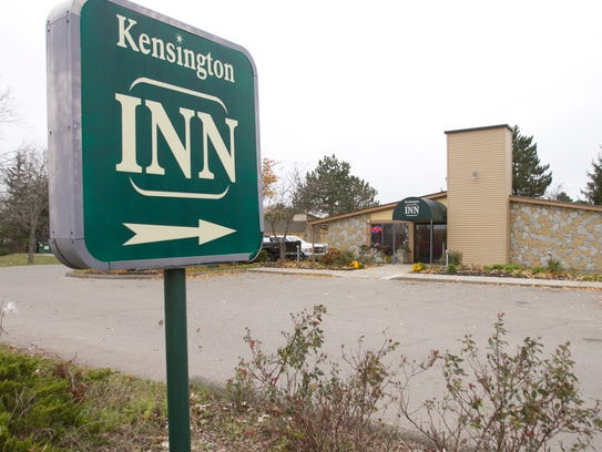 Kensington Inn in Howell, shown Thursday, Nov. 9, 2017, will accept emergency vouchers and provide temporary housing for those who are homeless. The vouchers are obtained from local agencies who receive grant funding.