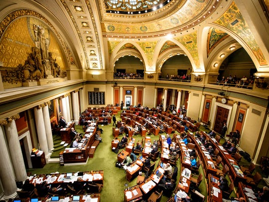 Minnesota House of Representatives.