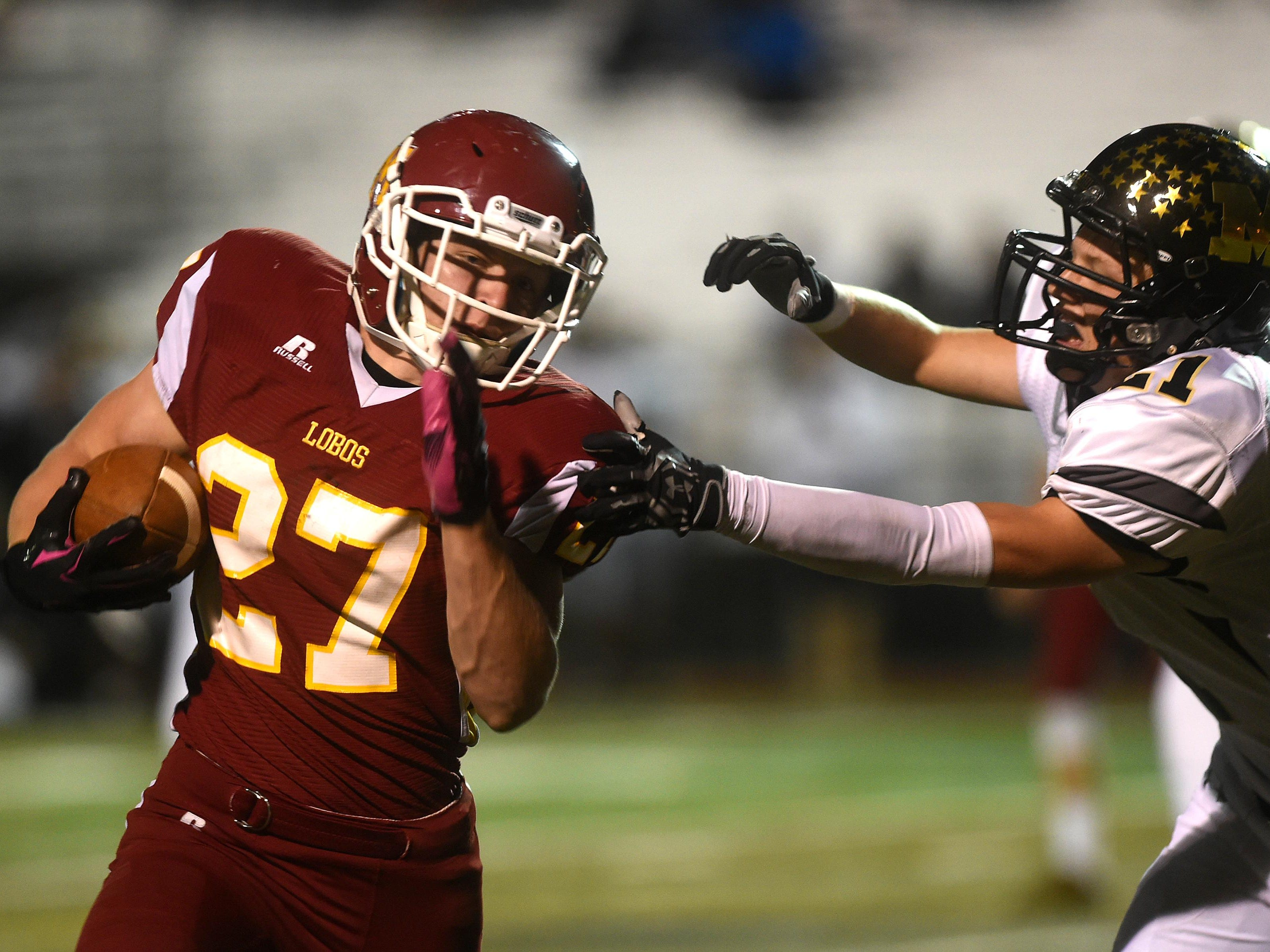 Rocky Mountain's Cade Hairgrove is second among area rushers in yards on the ground and first in touchdowns.