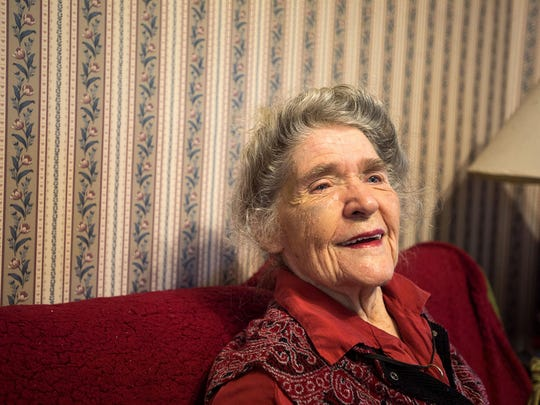 Hazel Robinson, 90, founder of the Montford Park Players, still lives in her longtime home in Asheville's Montford neighborhood. She is a living link to one of Asheville's oldest theater companies.