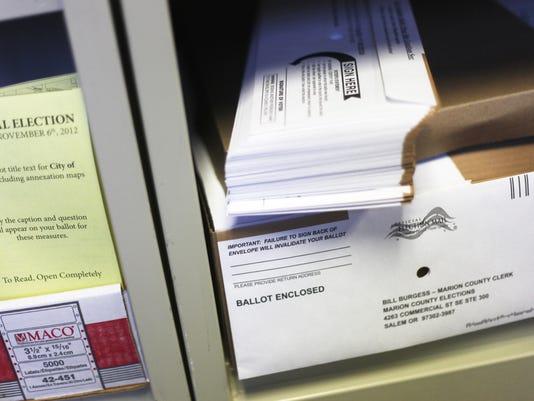 Voter Ballots