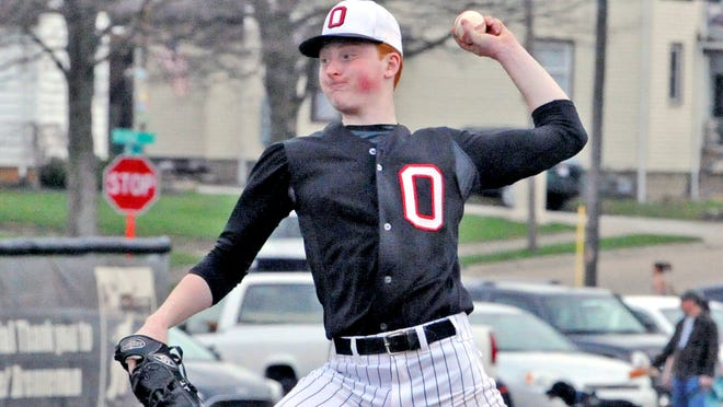 Orrville's Lane Marshall will be coached by his dad Scott Marshall during the 6:30 p.m. Wayne-Holmes Baseball Coaches Association Farewell Game on July 14.