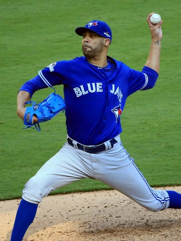 Blue Jays ace David Price pitched three innings out