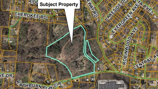 Buncombe County's Board of Adjustment addressed a conditional use permit request Wednesday for a 79-unit single-family project submitted by John Hale of Asheville West, LLC.