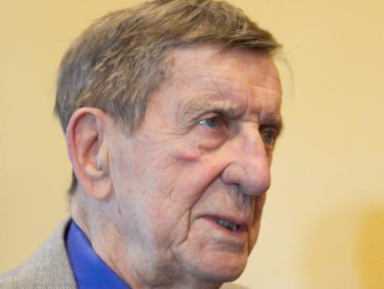 Hockey Hall-of-Famer Ted Lindsay, a former Detroit