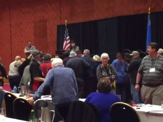 Police Called After Washoe GOP Meeting Erupts Into Chaos Tuesday