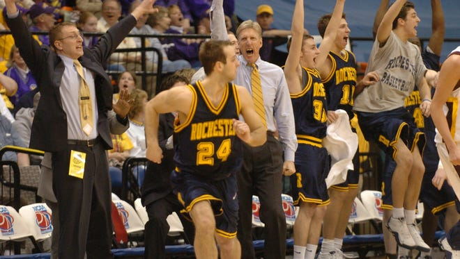 The University of Rochester, St. John Fisher, Nazareth College and RIT will be part of a four-school new local college basketball event next month called the Mark's Pizzeria Crosstown Shootout.