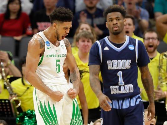 NCAA Basketball Tournament - Rhode Island v Oregon