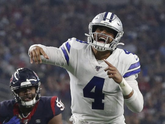 Dallas Cowboys quarterback Dak Prescott has two years left on his rookie contract.